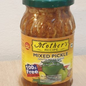 Mother's Recipe – Mixed Pickle – Net Wt. 400 g (300 g + 100 g free)